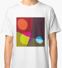 Abstract 'Tumbling Down No1' Classic T-Shirt