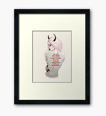 Affirmations Framed Print
