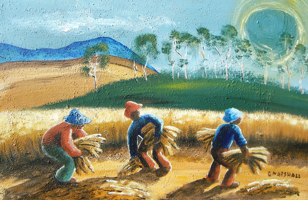 harvesters by Gary Marshall