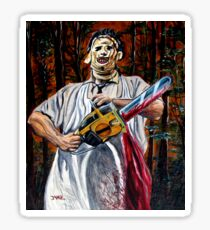 Leatherface (Texas Chainsaw Massacre) Sticker