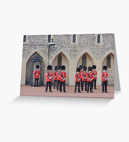 Ceremonial Guards Greeting Card