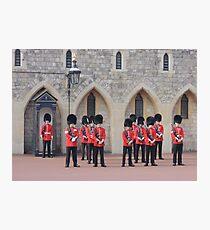 Ceremonial Guards Photographic Print