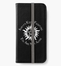 Supernatural Not Alone v2.0 iPhone Wallet/Case/Skin
