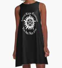 Supernatural Not Alone v2.0 A-Line Dress