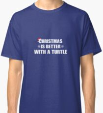 Christmas Is Better With A Turtle  Classic T-Shirt