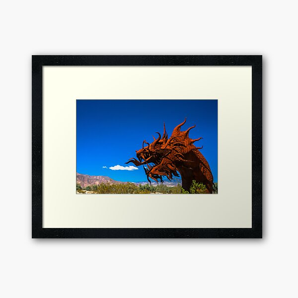 And a Little Bit of Smoke Puffed Out Framed Art Print