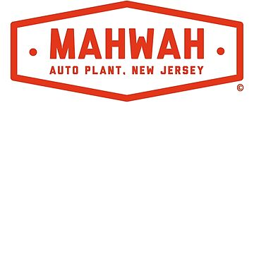 Mahwah Auto Plant (Nebraska Red) - Inspired by Springsteen's 'Johnny 99' (unofficial) by MarkLenthall