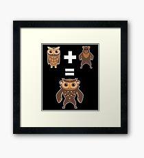 How to make an Owlbear Framed Print