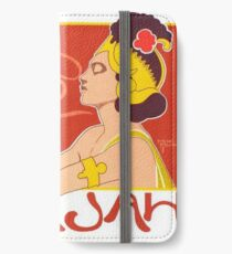 Cafe Rajah Poster for Coffee Lovers iPhone Wallet/Case/Skin