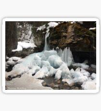Frozen waterfall  Sticker