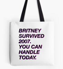 Britney hat 2007 überlebt Tasche