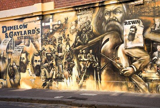 Melbourne Mural 2004 by Rosina  Lamberti