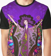 Queen of the Purple Butterflies Graphic T-Shirt