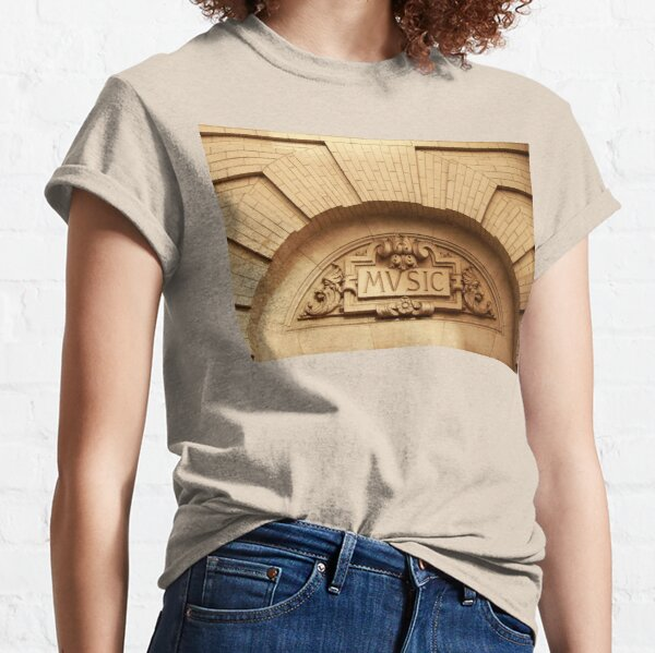 Music - It Makes the World Go Round Classic T-Shirt