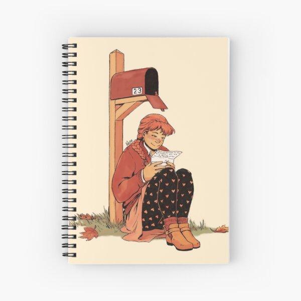 Snail Mail Love Spiral Notebook