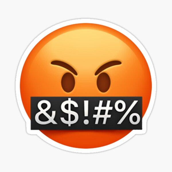 Swearing Emoji  Sticker