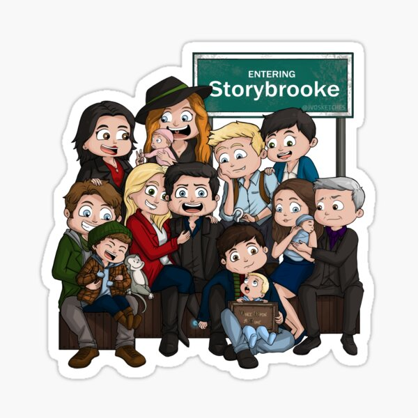 WE R FAMILY (B) Sticker