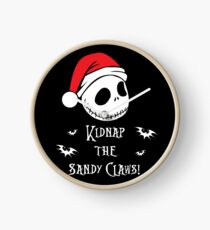 Nightmare Before Christmas - Sandy Claws v2.0 Clock