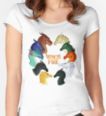 Wings of Fire - All Together Women's Fitted Scoop T-Shirt
