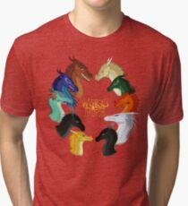 Wings of Fire - All Together Tri-blend T-Shirt
