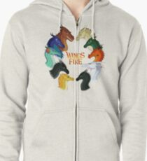 Wings of Fire - All Together Zipped Hoodie