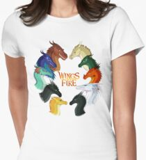Wings of Fire - All Together Women's Fitted T-Shirt