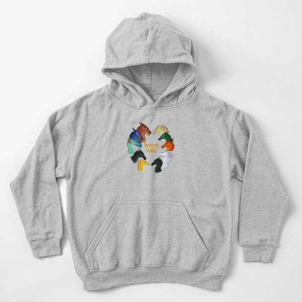 Wings of Fire - All Together Kids Pullover Hoodie