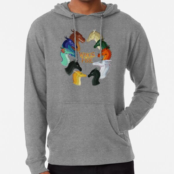 Wings of Fire - All Together Lightweight Hoodie