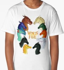 Wings of Fire - All Together Long T-Shirt