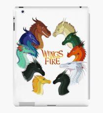 Flügel des Feuers - Alle zusammen iPad-Hülle & Klebefolie