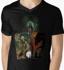 Solas Tarot Card Trilogy Men's V-Neck T-Shirt
