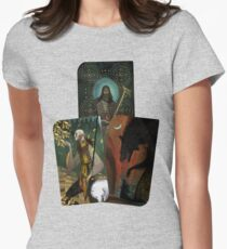 Solas Tarot Card Trilogy Womens Fitted T-Shirt