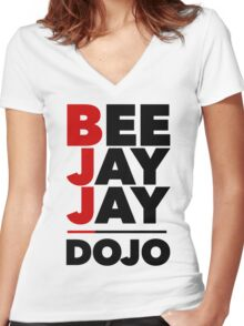 Beejayjaydojo - Original Women's Fitted V-Neck T-Shirt