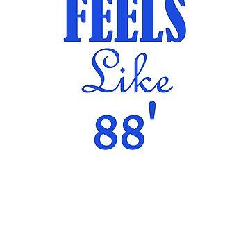 Feels Like 88, Dodger Fan, Baseball by dotzi