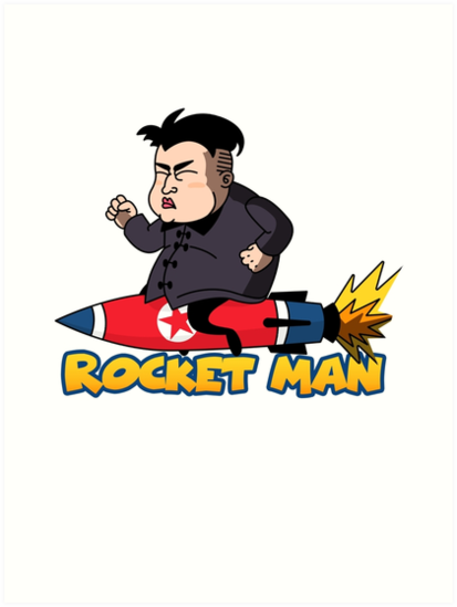 Rocketman Kim Jong Un By Teresasays