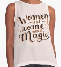 Women are Some Kind of Magic - The Princess Saves Herself in This One Contrast Tank