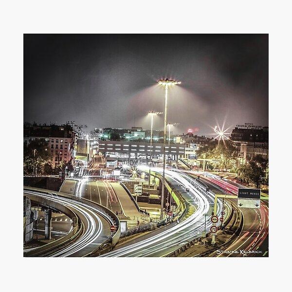Light Moves Photographic Print