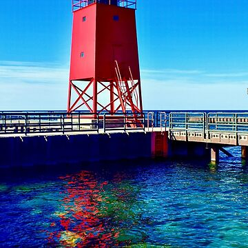 Charlevoix Lighthouse Reflections by Colette22