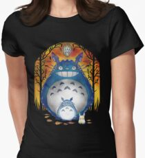 forest diamonds Women's Fitted T-Shirt