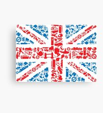 British and Proud Canvas Print
