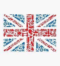 British and Proud Photographic Print