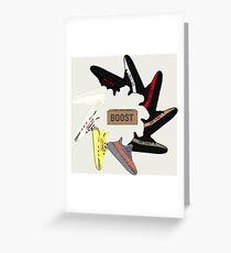 Yeezy Wheel Greeting Card