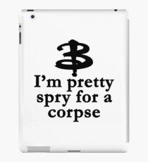 Buffy The Vampire Slayer Quote v3.0 iPad Case/Skin