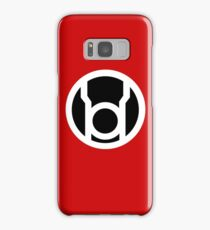 Red Lantern Samsung Galaxy Case/Skin