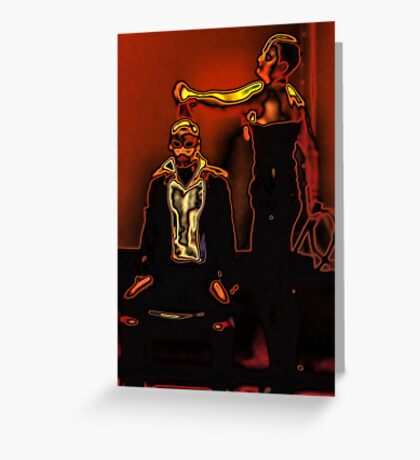 Pleasure and Pain Greeting Card