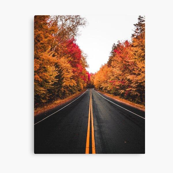 Fall Drives on the Kancamagus (Vertical) Canvas Print
