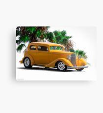 1933 Pontiac Deluxe 8 Touring Sedan III Metal Print