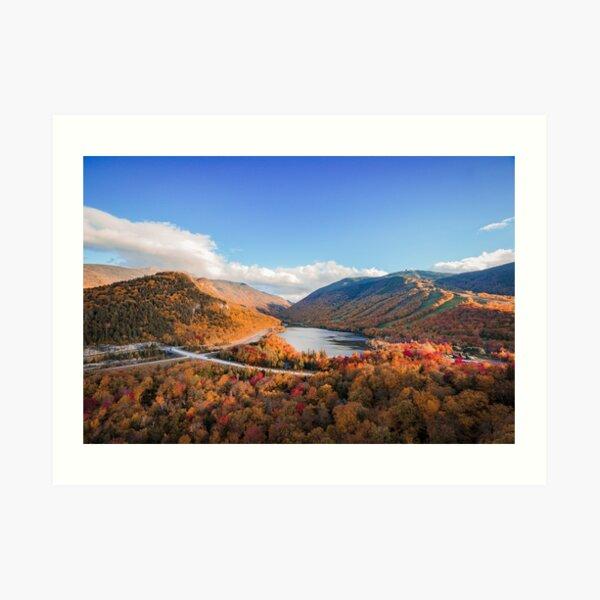 Autumn in Franconia Notch Art Print