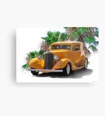 1933 Pontiac Deluxe 8 Touring Sedan Ia Metal Print
