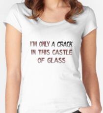 Linkin Park Castle Of Glass Women's Fitted Scoop T-Shirt
